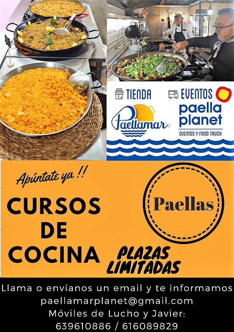 CURSO DE COCINA. PAELLAS