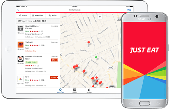 Ya estamos en JUST EAT !! Tu paella a domicilio